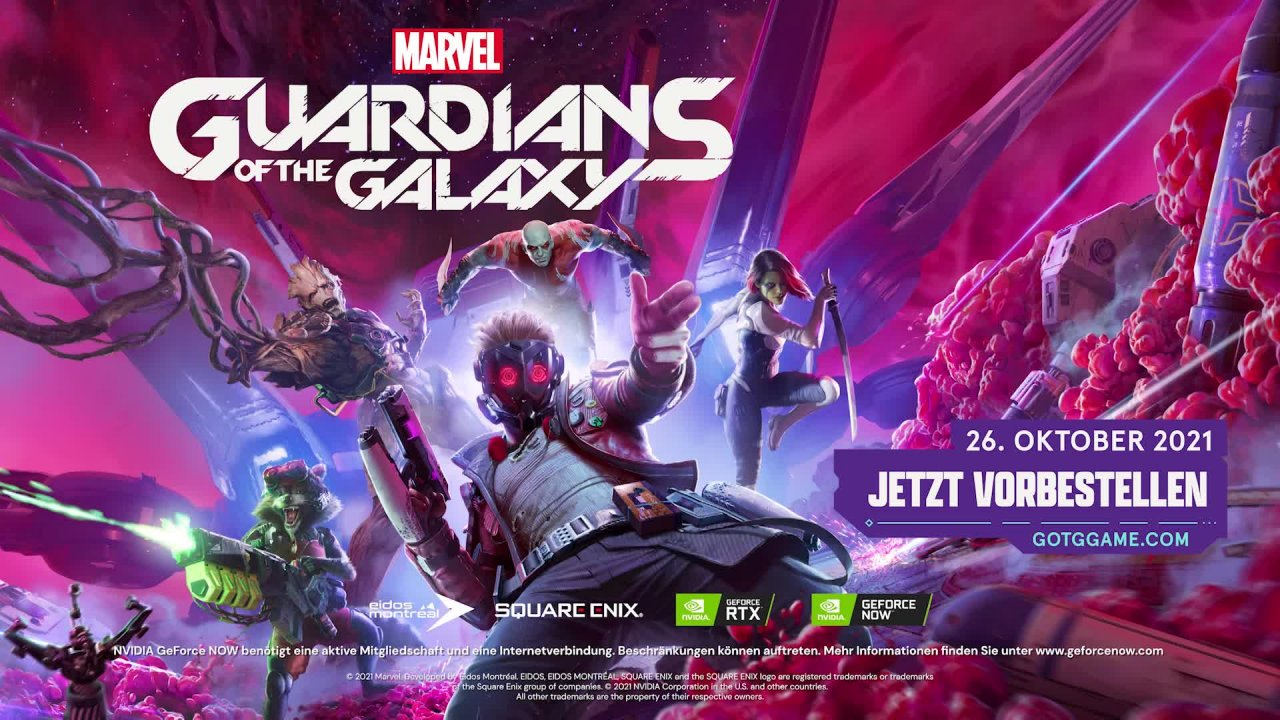 Marvel's: Guardians of the Galaxy - PC Tech Trailer [GER]