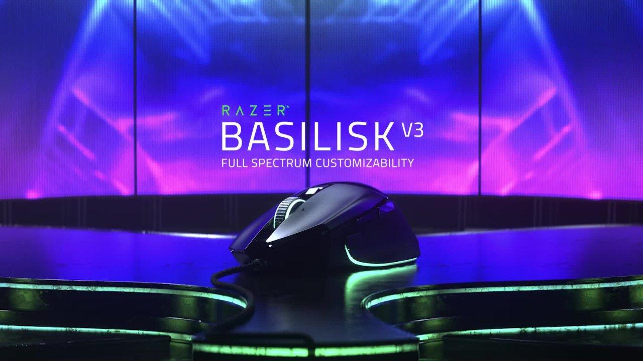 Razer Basilisk V3 - Full Spectrum Customizability