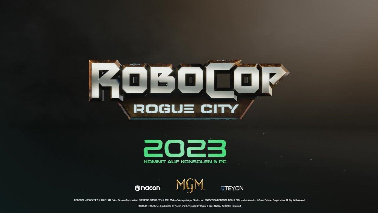 RoboCop: Rogue City - Teaser Trailer [GER]